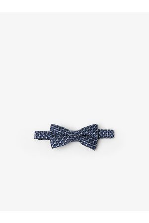 Zara Geometric print bow tie
