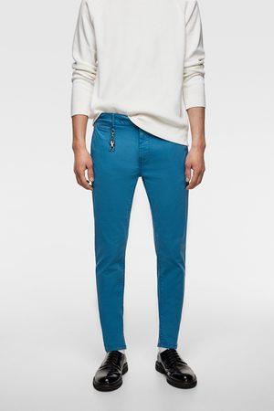 Zara Faded chino trousers