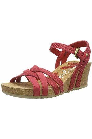 Panama Jack Women's Vera Snake Ankle Strap Sandals