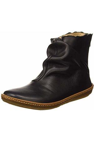 El Naturalista Women's N5311 Iris /Coral Ankle Boots