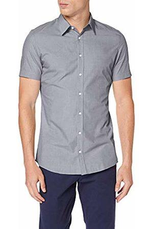 s.Oliver Men's 30.906.22.2230 Formal Shirt, / Dobby 99K2