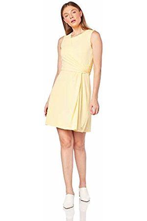 Tommy Hilfiger Women's Barbara Flare Dress (Golden Haze 793)