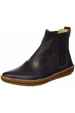 El Naturalista Women's N5310 Iris /Coral Ankle Boots