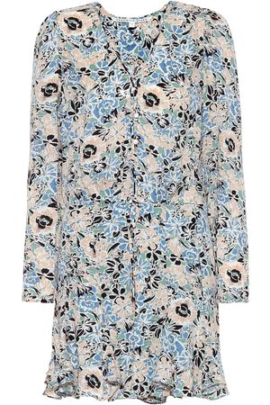 VERONICA BEARD Riggins floral silk dress