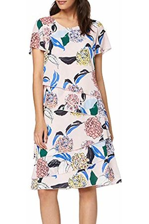 Gerry Weber Women Party Dresses - Women's 180041-31591 Dress, (Rosa/Ozean/Sun Druck 3137)