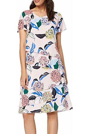 Gerry Weber Women Party Dresses - Women's 180041-31591 Dress, (Rosa/Ozean/Sun Druck 3137)