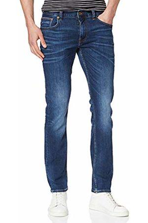 Tommy Hilfiger Men Straight - Men's Straight Denton Pstr Port Jeans, BLUE911