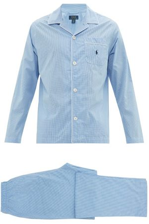 Polo Ralph Lauren Logo-embroidered Gingham Cotton Pyjamas - Mens
