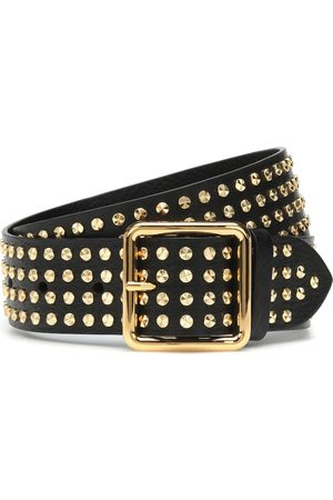 Alexander McQueen Studded leather belt
