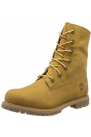 Timberland Womens Authentics Teddy Fleece Water Proof Fold Down Boots C8329R
