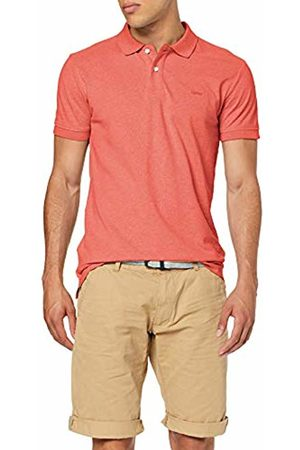 Esprit Men's 069ee2k013 Polo Shirt, (Berry 625)