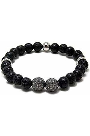 Von Lukacs Men Onyx Stretch Bracelet GBGGMBL8M