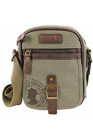Coronel Tapiocca Men's 0JI2965Messenger Bag (Caqui 127) Único