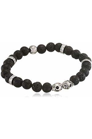 Von Lukacs Men Onyx Stretch Bracelet TWSBL8L