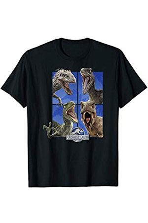 Jurassic World Group Of 4 Dinosaur Roars T-Shirt