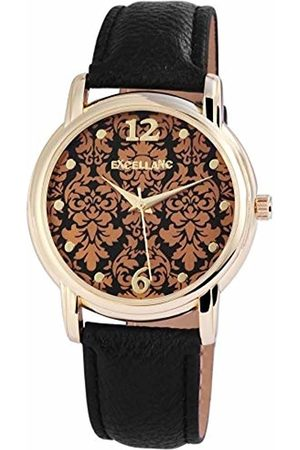 Excellanc Womens Analogue Quartz Watch with Leather Strap 1.95001E+11