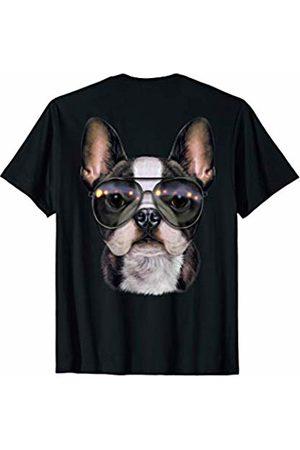 Fox Republic T-Shirts Cute French Bulldog wearing a Swag Aviator Sunglass T-Shirt