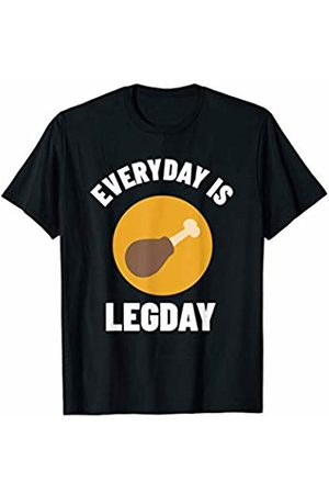 Gym Fitness Workout Shirts Mejeo Co. Everyday Is Leg Day Shirt Fitness Workout Gym T-Shirt