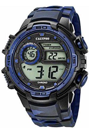 Calypso Mens Digital Quartz Watch with Plastic Strap K5723/1