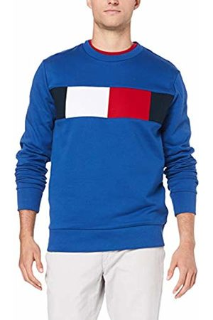 Tommy Hilfiger Men's Flag Chest Logo Sweatshirt Quartz 431