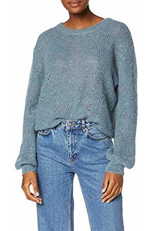 SPARKZ COPENHAGEN Women's Violetta Crop Knit Jumper, ( Mirage 756)