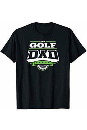 Golf Family Fan Zone Apparel Mens Golf Dad T-Shirt
