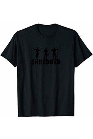 DesTeeNee Shredded Shirt - Gym Workout Fitness Fanatic T-Shirt