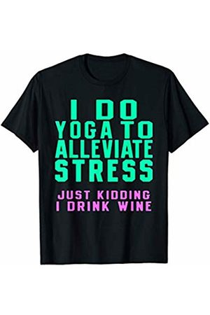 traffic cats I DO YOGA TO ALLEVIATE STRESS T-Shirt