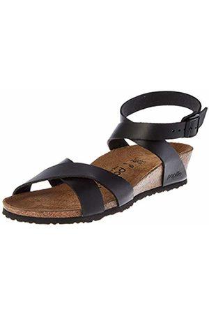 Birkenstock Papillio Women's Lola Ankle Strap Sandals, Noir
