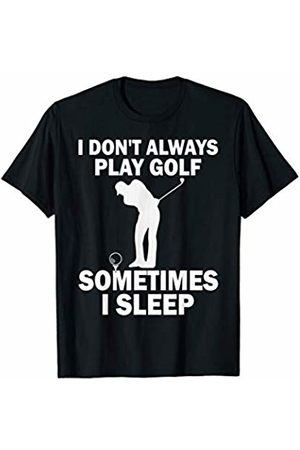 BW Golfing Tops Funny Golfing Let's Party Golf Ball T-Shirt