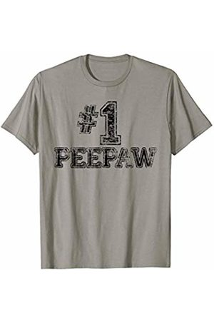 Number One #1 Family Gift Tees #1 PeePaw - Number One Sports Father's Day Gift T-Shirt