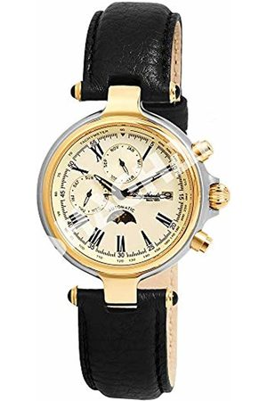 Engelhardt Men's Analogue Mechanical Watch with Leather Strap 3.85714E+11