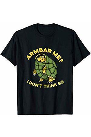 Funny Combat Martial Arts Shirts & Gifts Jiu Jitsu Turtle Brazilian BJJ Training Armbar T-Shirt