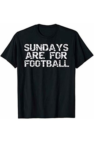 It's Football Time Y'all Design Studio Fantasy Football Gear Sports Quote Sundays are for Football T-Shirt
