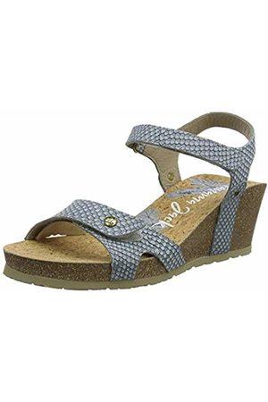 Panama Jack Women's Julia Snake Ankle Strap Sandals