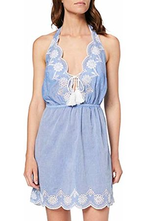Dorothy Perkins Women's Chambray Brodery Dress Cover-Up
