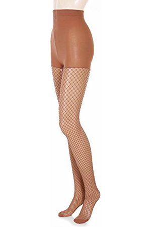 Glamory Women's Mesh Tights, Braun Make Up)