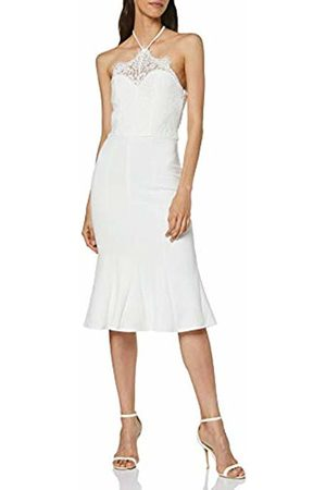 Chi Chi London Women's Endrianna Party Dress, ( WHI)