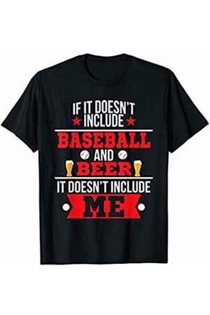 Funny Beer Tees Doesn't Involve Baseball & Beer Sports Fan T-Shirt