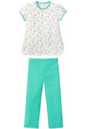 Schiesser Girl's Md Schlafanzug Kurz Pyjama Sets, -Weiß (Weiss 100)