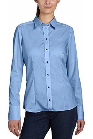 Seidensticker Women's Hemdbluse Langarm Modern Fit Uni Bügelfrei Blouse