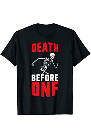 Death Before DNF - Ultra Runner Shirts & More Death before dnf ultra runner trail runner motivational T-Shirt