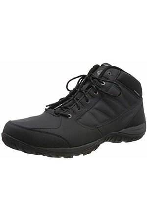 Columbia Men's Hiking Shoes, Waterproof, RUCKEL RIDGE CHUKKA WP OMNI-HEAT, ( , Dark )