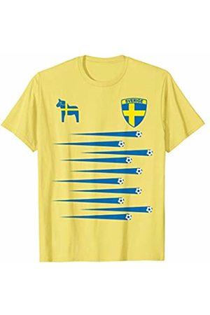 Womens World Soccer Tournament Cup France 2019 Sweden Sverige Soccer Jersey Womens World 2019 Cup France T-Shirt