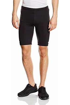 Trigema Men's Herren Kurze Sport-Hose Shorts, (Schwarz 008)