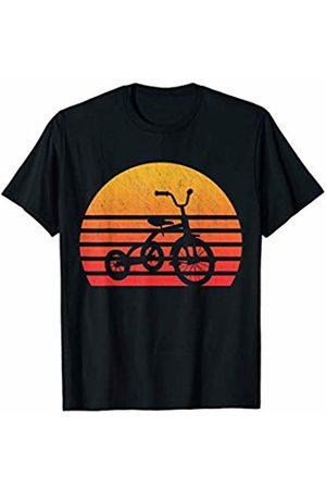 Classic Vintage Retro T-Shirts Vintage Retro Sunset Tricycle T-Shirt