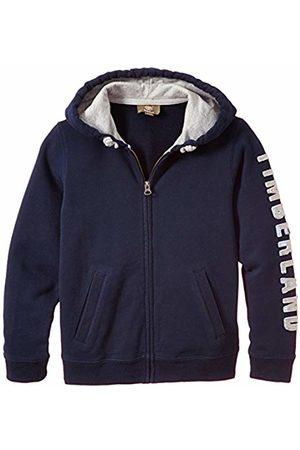 Timberland Boy's Cardigan A Capuche Bleu (Indigo )
