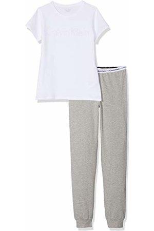 Calvin Klein Girl's Ss Knit Pj Pyjama Set