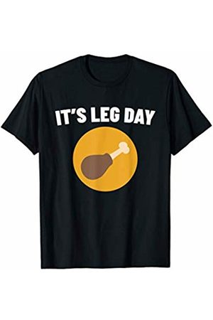 Gym Fitness Workout Shirts Mejeo Co. It's Leg Day Shirt Funny Chicken Leg Fitness Workout Gym T-Shirt