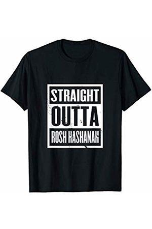 Rosh Hashana Vibes Tees Straight Outta Rosh Hashanah Jewish Holiday New Year Gift T-Shirt